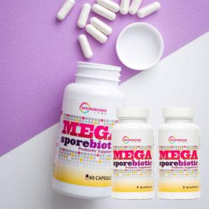 MegaSporeBiotic 3-Pack